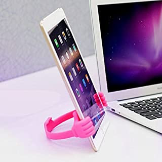 Universal OK Stand For Mobile Phones & Tablets Dark Pink