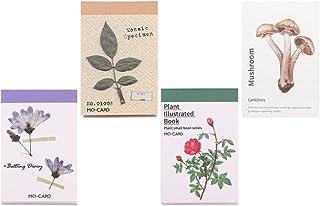 EXCEART 4 Ensembles Vintage Scrapbooking DIY Matériel Papier Journal Journal DIY Embellissement Fournitures pour Scrapbook...