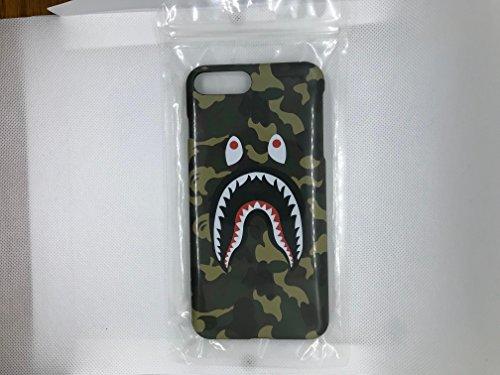iPhone 7 PLUS 5.5' Case, A Bathing Ape (Bape) Slim Protective Premium Hard Case for Apple iPhone 7 PLUS (Green Camo)