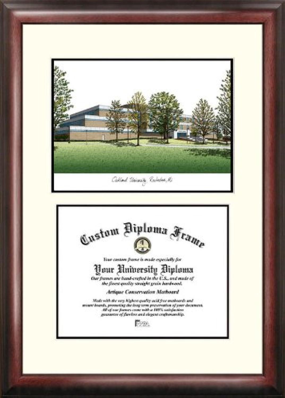 Campus Images MI984V Oakland University Scholar Diploma Frame, 8.5  x 11