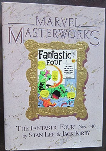 Marvel Masterworks: The Fantastic Four, Nos. 1-10 by Stan Lee (1987) Hardcover