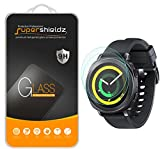 (2 Pack) Supershieldz Designed for Samsung Gear Sport Tempered Glass Screen Protector, (Full Screen Coverage), Anti Scratch, Bubble Free
