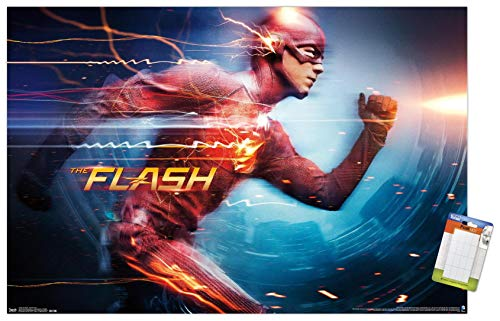 Trends International DC Comics TV-The Flash-Speed Force Wall...