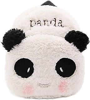 WSLCN Mini Backpack Kids Cute School Shoulder Bag Toddler Plush Small Backpack Baby Schoolbag Preschool Bag Gift Panda