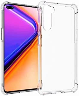 FanTing Cover compatible for vivo iQOO Neo3 5G Case, [Soft TPU] [Four corner airbag] [Anti-scratch]. Transparent protectiv...