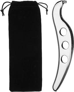 KISENG 304ステンレス鋼 Guasha マニュアルマッサージャー Gua Shaこする SPAボード ボディヘルスツール
