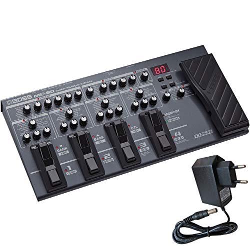 Boss ME-80 Multi-Effektgerät und Interface für Gitarre + keepdrum Netzteil 9V