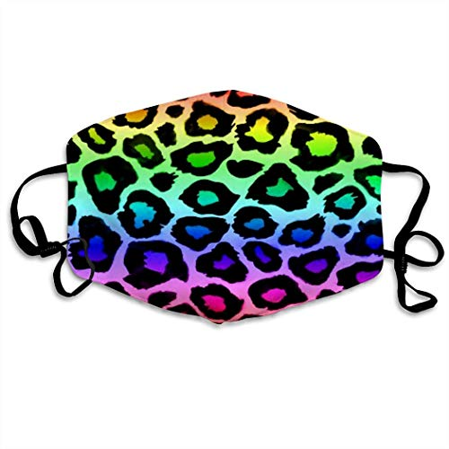 Animal Rainbow Print Anti-Dust Anti-Pollution Windproof Cover