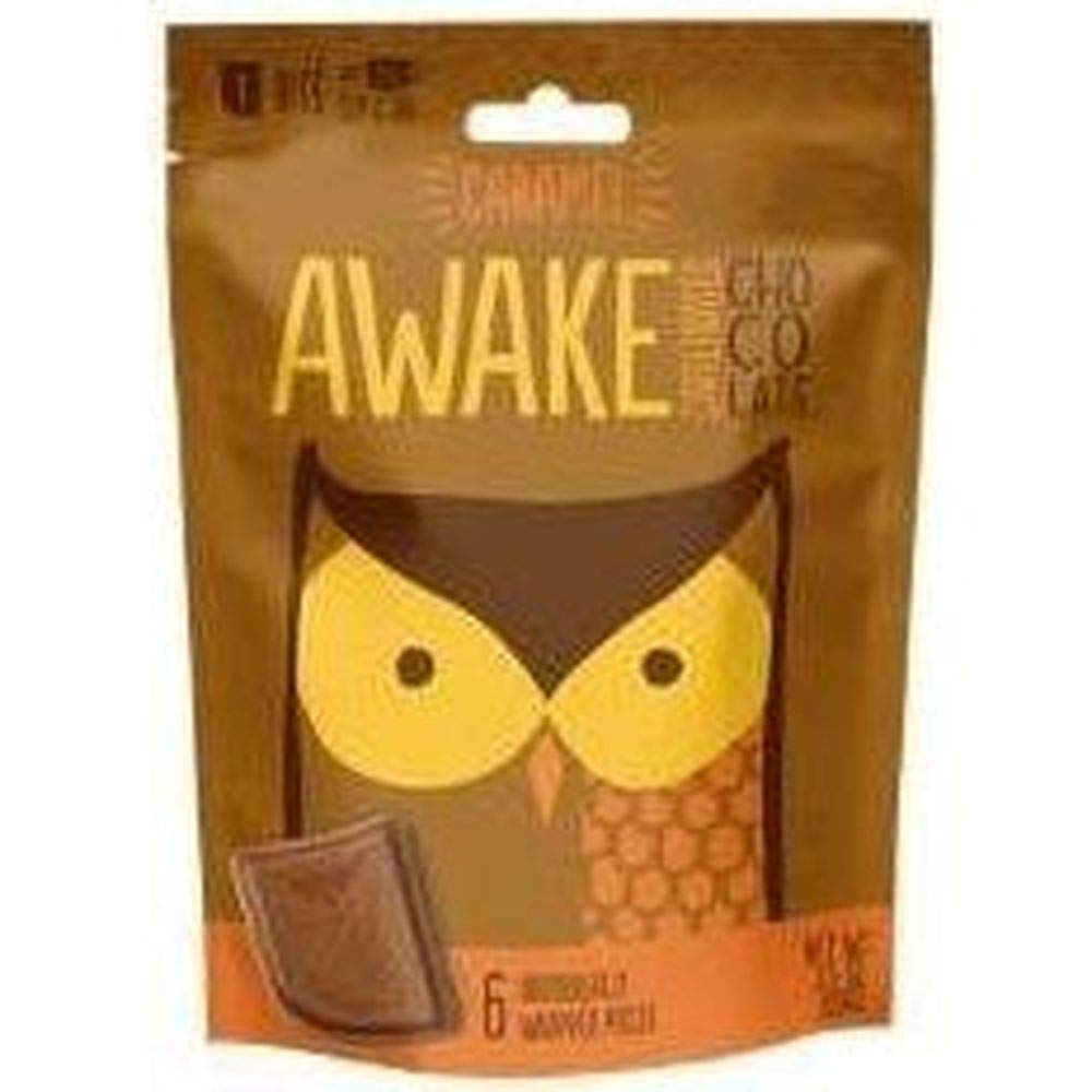Awake Chocolate quality assurance Caramel Milk Bites - count per 6 pack Special price for a limited time