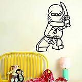 xinyouzhihi Design Moderne Vinyle décoration de la Maison Dessin animé Ninja...