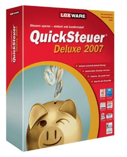 Preisvergleich Produktbild Quicksteuer Deluxe 2007 (V 13.0)