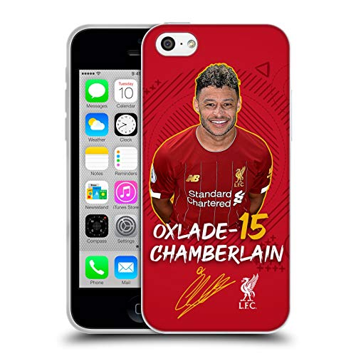 Head Case Designs Oficial Liverpool Football Club Alex Oxlade-Chamberlain 2019/20 Primer Equipo Grupo 1 Carcasa de Gel de Silicona Compatible con Apple iPhone 5c