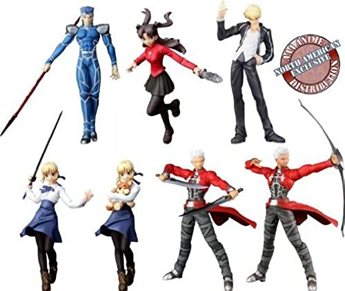 Fate Stay Night Trading Figures (Set of 7)