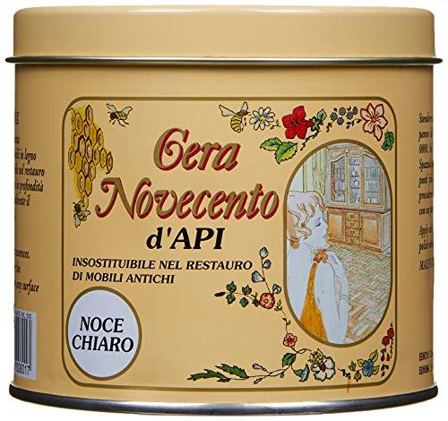 Cera Novecento Y920 Cera d'Api, Noce Chiaro, 500 ml