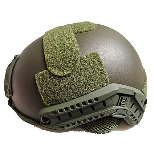 Casco táctico UHMW-PE balístico IIIA a prueba de balas engrosar rápido (GN, M)