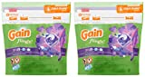 Gain Flings Laundry Detergent Pods - Moonlight Breeze - 16 Count Pods Per Package - Pack of 2 Packages