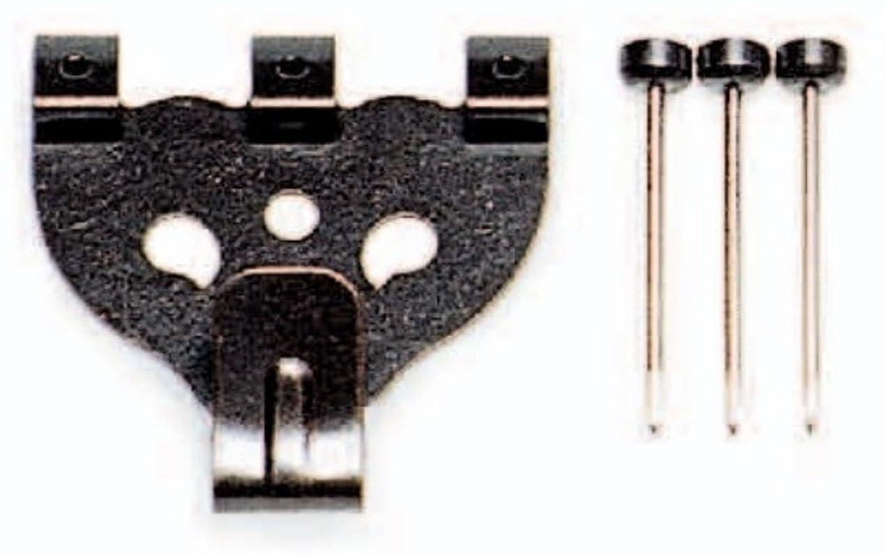 出身地評価する折る福井金属工芸製 額吊り用フック 大 三つ針 5個セット
