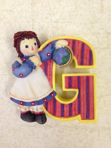 Raggedy Ann & Andy Collectible Letter G -  Enesco Group, Inc