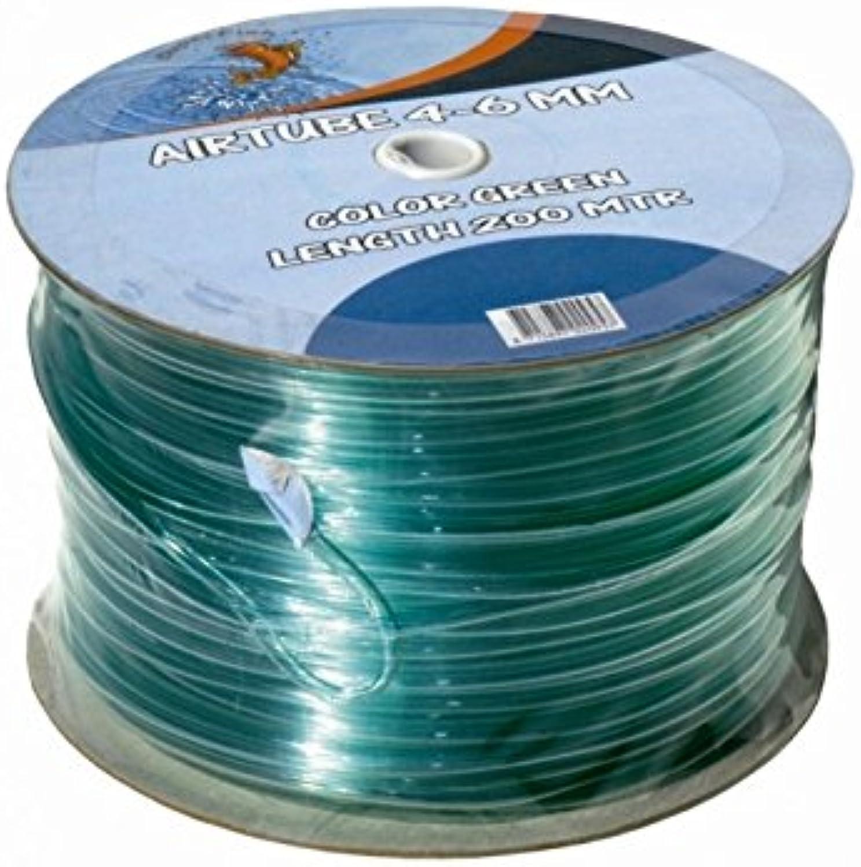 Flexible green hose 200 m