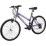 DNNAL Camino de la Bici, niños de 24 Pulgadas Bicicleta de montaña, Híbrido de Bicicletas de la Ciudad de cercanías para Bicicleta de Carretera para Hombres/Mujeres