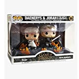 Gogowin Pop Television : Game of Thrones - Daenerys and Jorah 3.75inch Vinyl Gift for Fantasy Fans C...