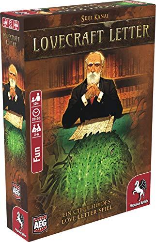 Pegasus Spiele 18209G - Lovecraft Letter (deutsche Ausgabe)