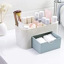 Cpixen Cosmetic Storage Box Multi Functional Desktop Storage Boxes Drawer Makeup Organizers Storage Boxes (Colour Multi)