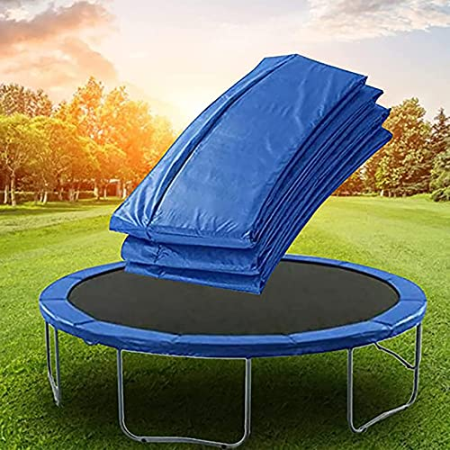 Round Trampoline Safety Pad, PE Waterproof Surround Spring Cover, 3 Layer Shockproof Trampoline Spring Pad,Diameter:14FT(4.27m)