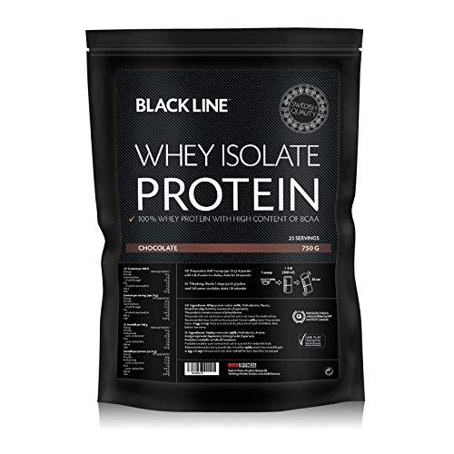 Budo & Fitness Black Line Whey Isolate 750g (Strawberry)