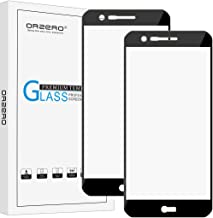 (2 Pack) Orzero Compatible for LG K20 Plus, K20 V, LG Harmony 2, LG Phoenix Plus, LG X4, X4 +, K10 (2018 version) (Full Coverage) Tempered Glass Screen Protector, HD Anti-Scratch (Lifetime Replacement Warranty)