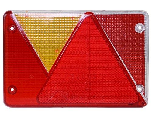 Multipoint 4 IV Lichtscheibe Ersatzglas 18-8484-007 links für Pkw Anhänger LINKS