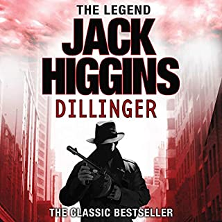 Dillinger audiobook cover art