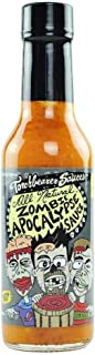 Zombie Apocalypse Ghost Chili Hot Sauce, 5 ounces - All Natural, Vegan, Extract Free, Made in USA, Featured on Hot Ones! (2)