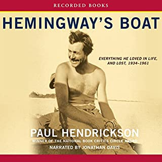 Hemingway's Boat audiobook cover art