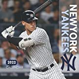 New York Yankees 2022 Calendar: 18-month Grid Monthly Yearly Calendar for all ages and genders with 8.5   x 8.5