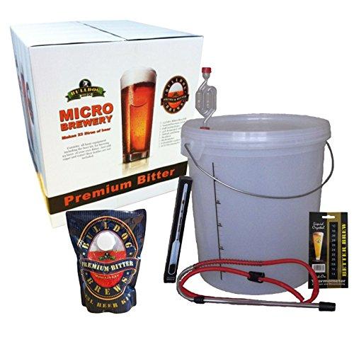 Bulldog Micro Brewery – Bitter – Attrezzatura iniziale e kit per birra