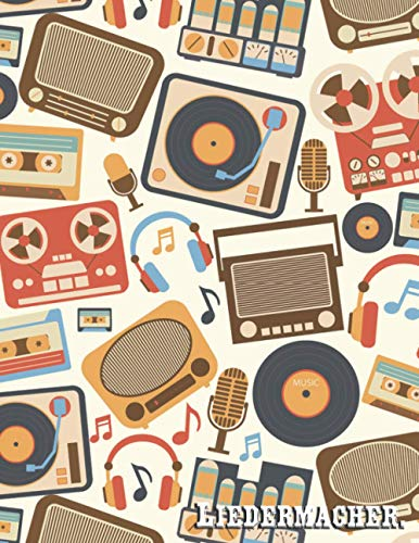 Liedermacher: Gitarren Notenblatt für Musiker und Komponisten