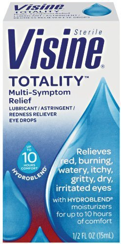 Visine Totality Multi-Symptom Relief Eye Drops, 0.5 Ounce by Visine (English Manual)