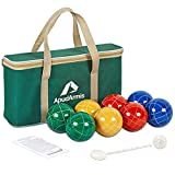 ApudArmis Bocce Balls Set, Outdoor Family Bocce Game for...