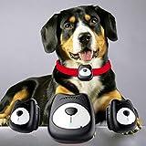 HLMAX Pet GPS Tracker Borsa Collare Impermeabile Pet Collare per Dog Behavior Monitor e Activity Tracker, Aiuta a Mantenere Il Cane/Gatto al Sicuro, Regolabile