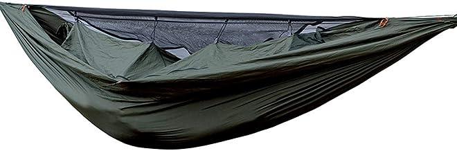 Camping Hammock Swing Bed Lightweight Double Single Portable Parachute Hammocks for Garden Backyard Outdoor