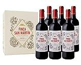 Finca San Martín - Vino Tinto Crianza D.O Rioja Alavesa Variedad...