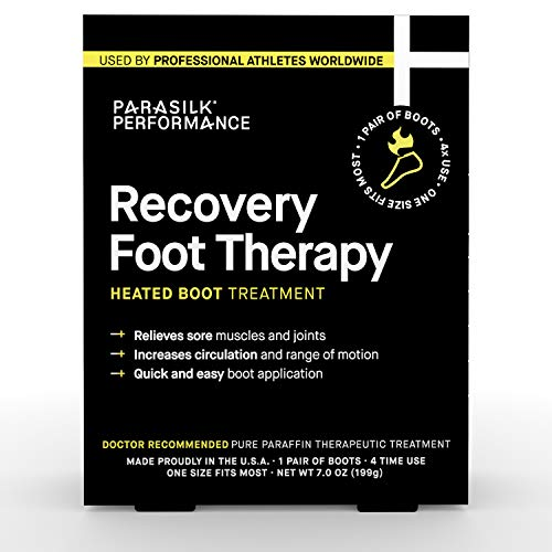 Parasilk Performance Recovery Foot Therapy Heated Boot Treatment (1 Pair)