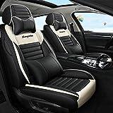 Autositzbezüge für Frauen 5 Sitze PU-Leder Sitzbezüge/Protektoren vorne und hinten...