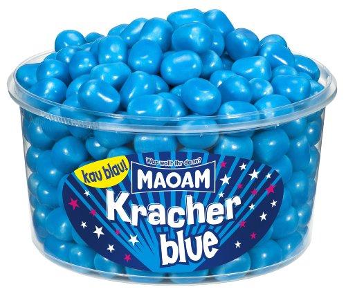 Haribo MAOAM Kracher Blue, 3er Pack (3 x 1.2 kg)