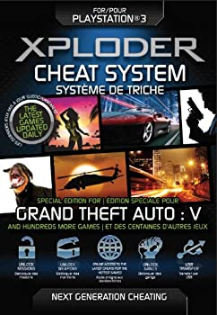 Xploder Cheat System - Special Edition for Grand Theft Auto V Plus 100 s More Games  PS3