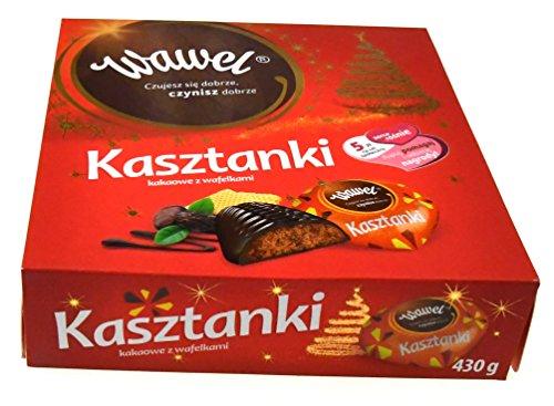 Wawel Kasztanki gefüllte Pralinen 430g. Polnische Süsswarenspezialität