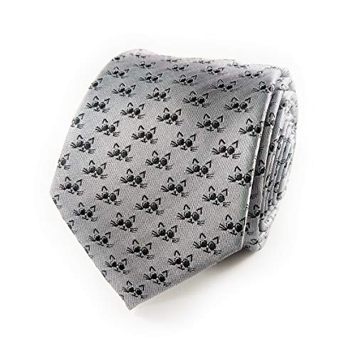 Cat Print Tie cat-themed gifts for him