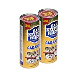Bar Keepers Friend Powder Cleanser 21 oz - Multipurpose Cleaner & Stain Remover - Bathroom, Kitchen & Outdoor Use - for Stainless Steel, Aluminum, Brass, Ceramic, Porcelain, Bronze and More (2)