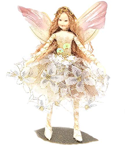 Fairy Family Collectable Figurine - Forest Fairies, Witch & Elves Ornament Gift Idea (Fairy Isadora)